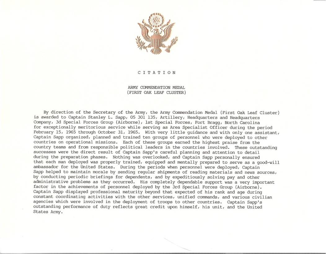 Certificate Of Commendation Usmc Template Certificate Of Navy Marine ...